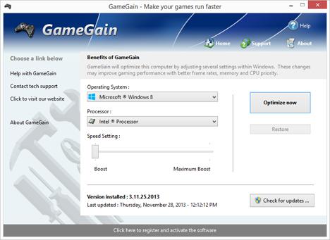 download gamegain full version crack
