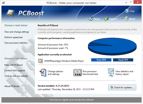 PGWARE PCBoost 4.11.11.2013 破解补丁