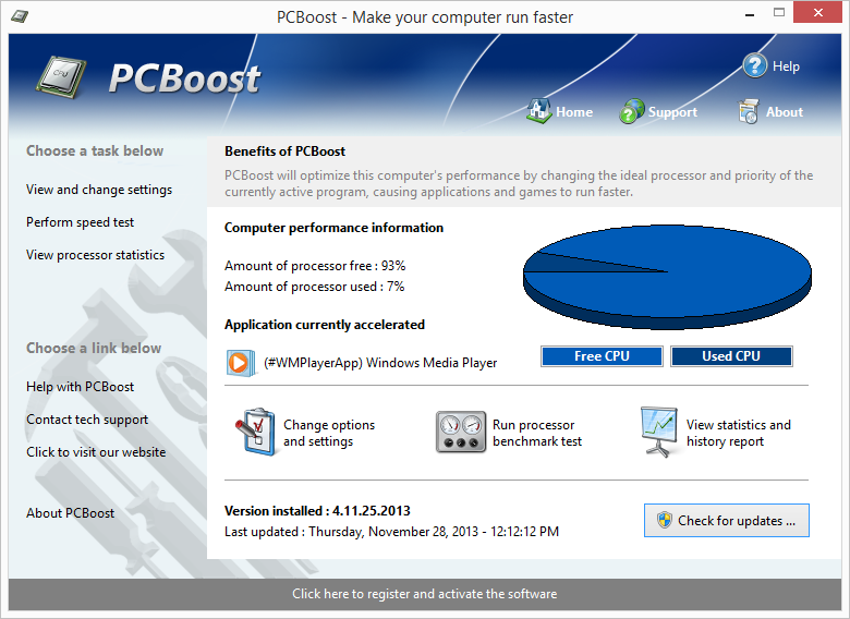 PCBoost screen shot