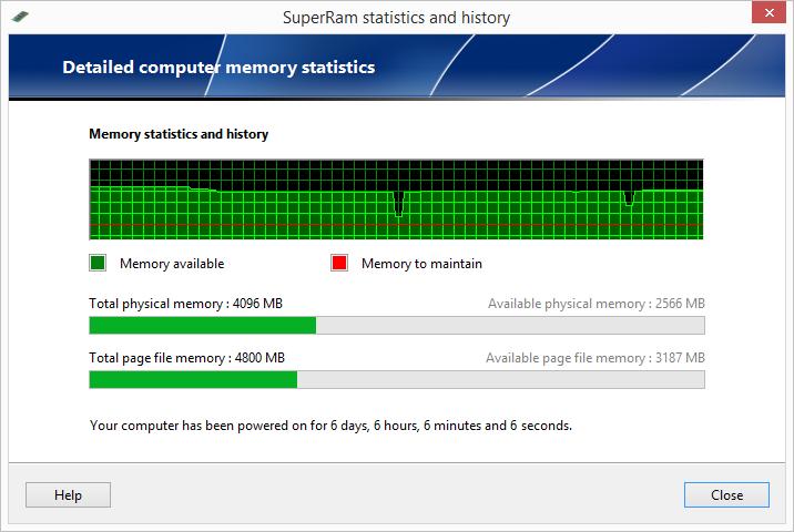 تحميل برنامج SuperRam 6.4.9.2012 عملاق تسريع وتنظيف الرامات في إصدارة الأخير