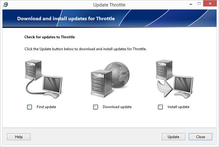 Throttle screenshot